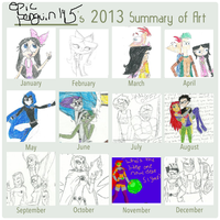 My Summary of Art 2013 by epicpenguin145