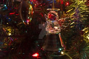 Christmas Angel bell by MariaWillhelm
