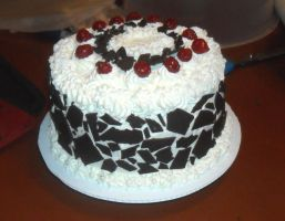 Real Foret Noire Cake by kayanah