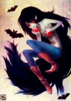 Marceline and Apples by E-X-P-I-E