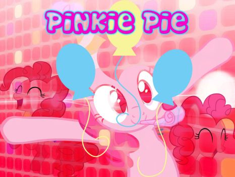 BG My Little Pony FIM Pinkie Pie by Moonofthedarknight