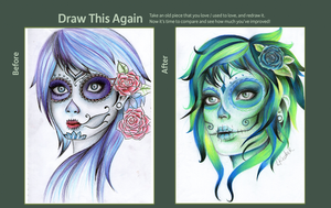 Draw This Again Contest by Keuker