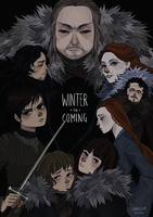 house stark by crowvenchi