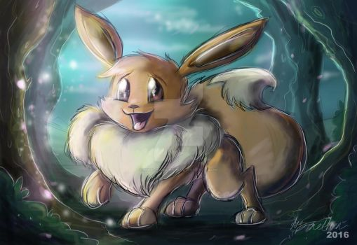 Eevee by Mad--Munchkin