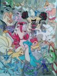 Pokemon I've used in my teams through the gens pt2 by PsychoBerries