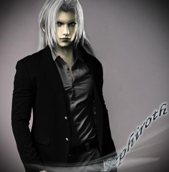 sephiroth _ be gentle by akonyah