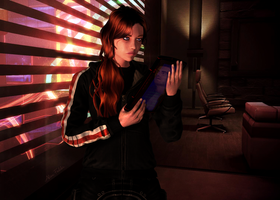 Femshep - Missing You (request for Razz8) by AlienFodder