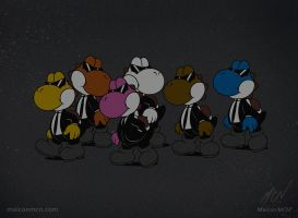 Reservoir Yoshis by maiconmcn