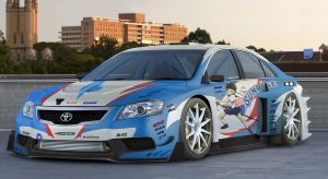Sunrise Aurion GT300 by NotoAyako