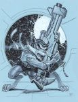 Rocket Raccoon by MichaelDooney