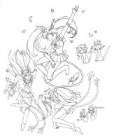 DOODLE - the Lake Trio goes SM by Juuchan17