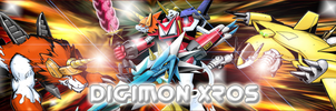 Logo Digimon Xros by Ruki-Makino