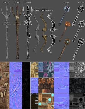 Sacred 2 - Weapons by iLegacy