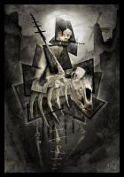 Don Quichotte by Trez-Art