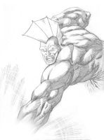 Savage-Dragon by vincent-fourneuf