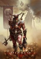 Barbarian Diablo III_Reaper of Souls by emilus