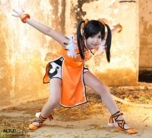 Ling Xiaoyu Cosplay by DEATHNOTE---L