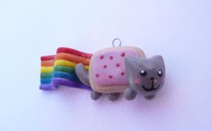 Nyan cat charm by SuGaR-AdDIKt