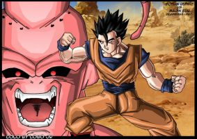 Gohan and buu by Lobox2