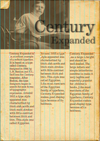 Century Page Layout by SilverThornz
