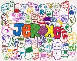 doodle:jerome by andreakris