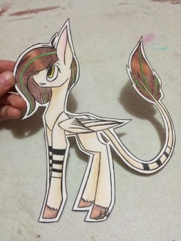 Traditional pony by Pinkdolphin147