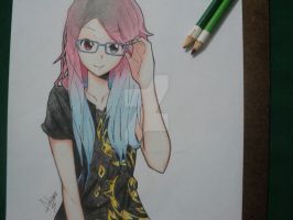 Glasses (2) by AdrianoL-Drawings