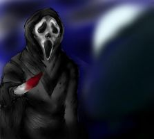 GhostFace:1. by TristeHappyHyena