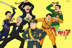"The REAL ""Axis Powers Hetalia"" by CptFarfegnugen"