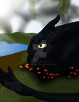 Toothless - Bed of Embers by NSCosplay