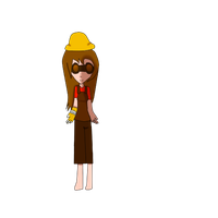 tf2 engineer girl chracter design by Lovehalo