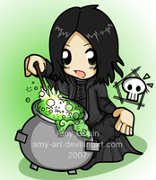 Severus Snape - Harry Potter by amy-art