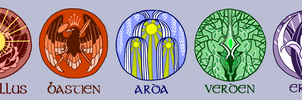 Rise of Anhur Crests by 2StreetsDown