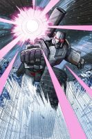 IDW's Megatron coloring comp by MachSabre