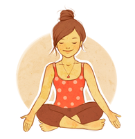 Yoga by kimpertinent