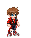 Gaia Online Dream Avatar, Ripped Red by LevelInfinitum