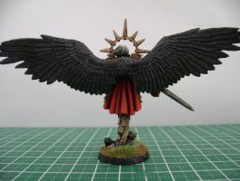 St Celestine miniature back by jnalye