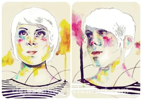 Tegan and Sara by Riejeschka