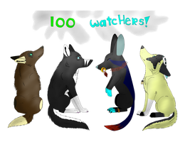 100 Watchers Family Picture by TakeABreakNomKitKat