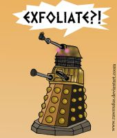 Dalek Make-up Artist by RawrRufus