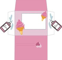 Ice Cream Envelope by yfm-stock
