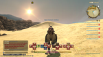 Riding on my chocobo through the Sagoli Desert by artisticwonder24