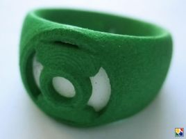 Green Lantern Cosplay Rings by JeremyMallin