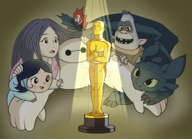 Best Animated Feature Race 2015 by Mockingbyrd