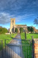 Mattersey Church by AndrewYoull