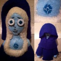 Steven Universe - Blue Diamond Plush by Jack-O-AllTrades