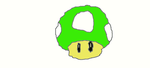 Super Mario 1 Up Mushroom by mariofan2468