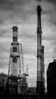 One of the smokestacks by CleverSparkle
