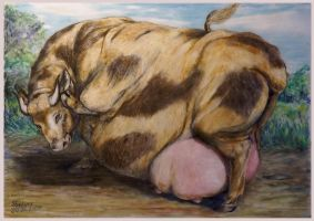 Fat cow 2 2008 by SSsilver-c
