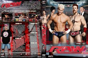 WWE Raw October 2012 DVD Cover by Chirantha